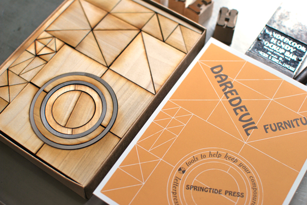 Daredevil Furniture by Springtide Press