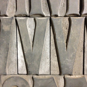 Runic Wood Type, Dave Peat Giveaway, 2014